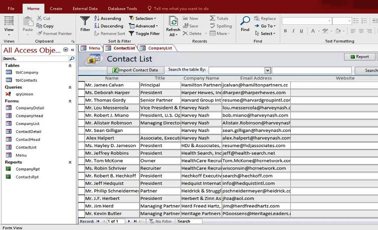 movie database template for microsoft access