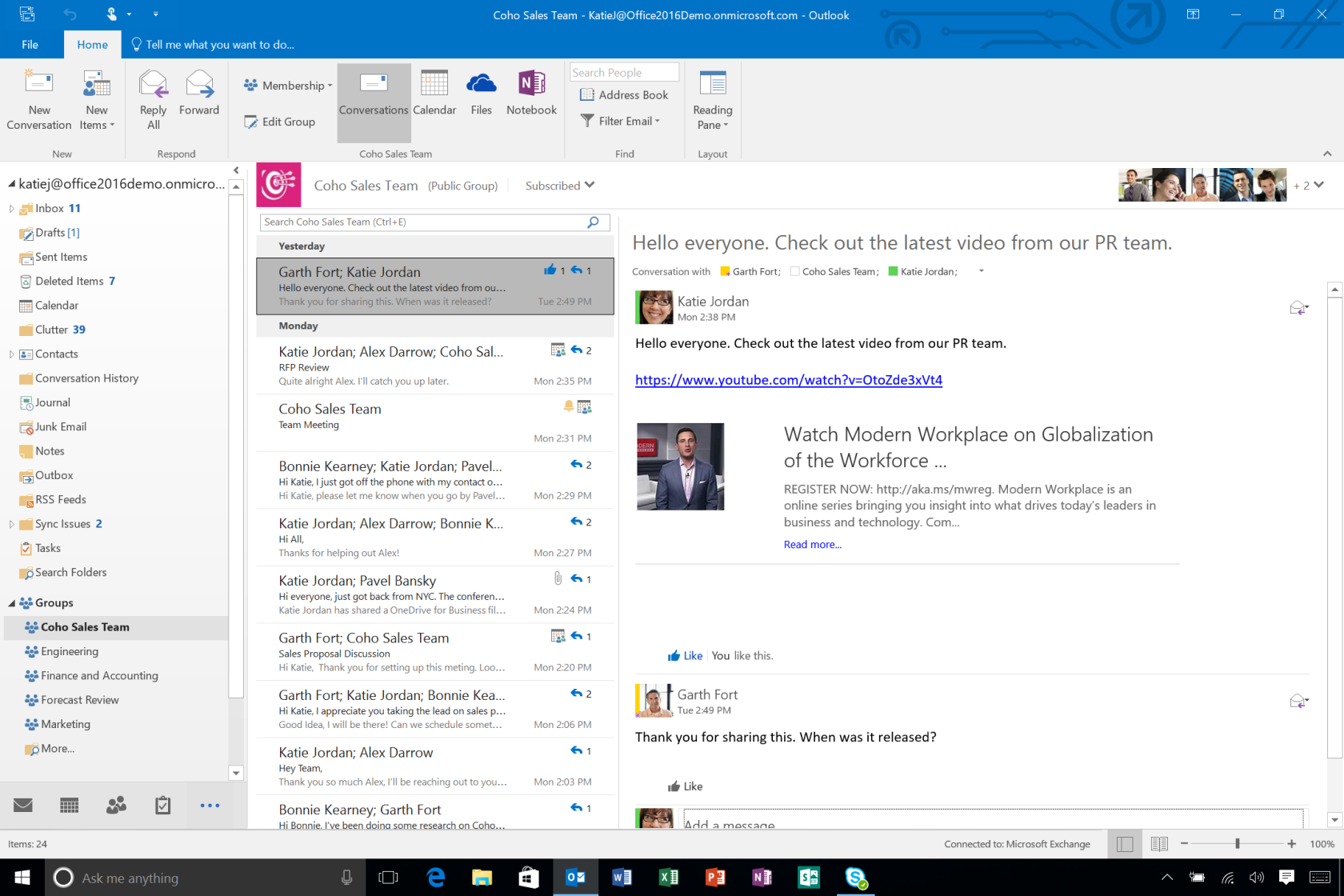 What S New In Microsoft Outlook 2016